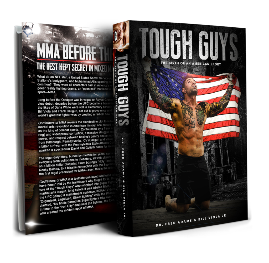 Best selling MMA history book - Tough Guys MMA History