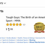 amazon best mma book